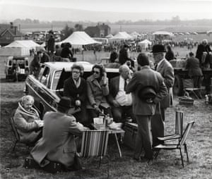 Point to Point Race, Sussex (possibly Parham), 1972 by Dorothy Bohm