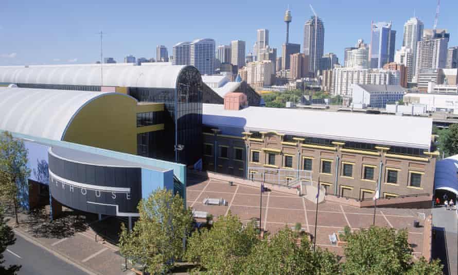 Exterior of Powerhouse Museum in Sydney