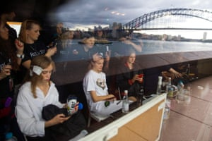 Hair and makeup backstage at the Opera House