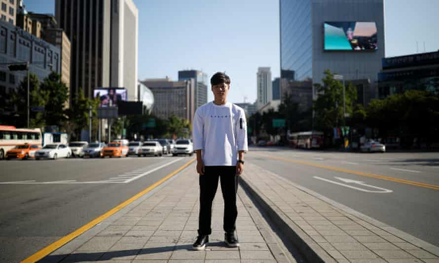 North Korean refugee Lee Oui-ryuk in Seoul, where he can have any food delivered