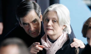 Fillon with his Welsh wife, Penelope.
