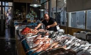 The fish market in Mazara del Vallo.