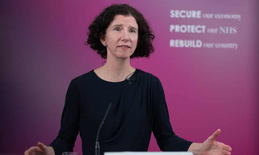The shadow chancellor, Anneliese Dodds