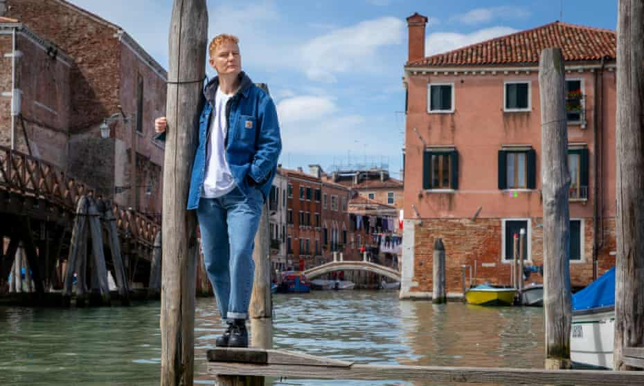 'I'm attracted to her' … Prodger in Venice.