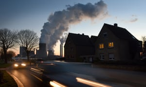 Steam rises from cooling towers at the RWE Niederaussem coal-fired power plant near Bergheim, Germany. Current EU proposals are 'not consistent with what was agreed in Paris'.