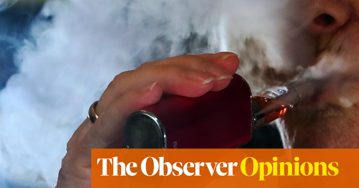 Why Is The Nhs Listening To The Siren Voices Of The Vape