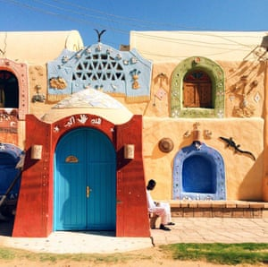 Ahmed Saeed of Cairo, Eypt was placed first in the travel section with his vibrant image of the Nubian village of Gharb Sehal at Aswan.
