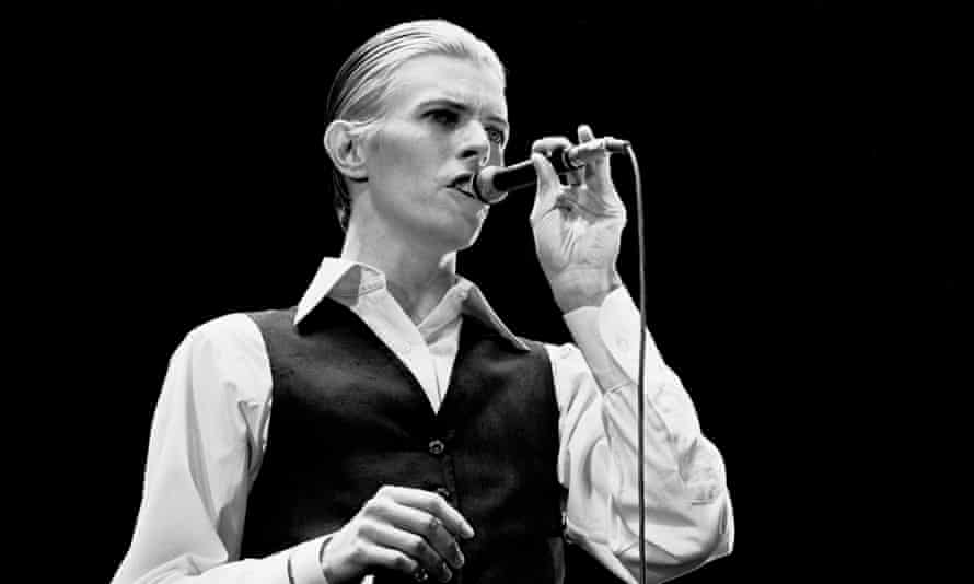 David Bowie's Thin White Duke led fans to raid Oxfam shops for dinner suits and white shirts (Rotterdam, 13 May 1976).