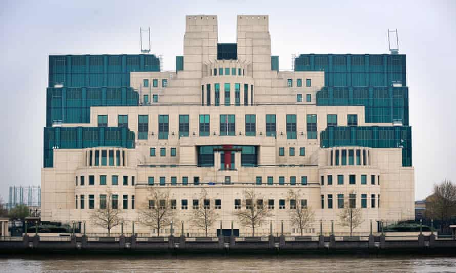 MI6 building in Vauxhall, London.