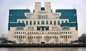The MI6 building in Vauxhall, south London