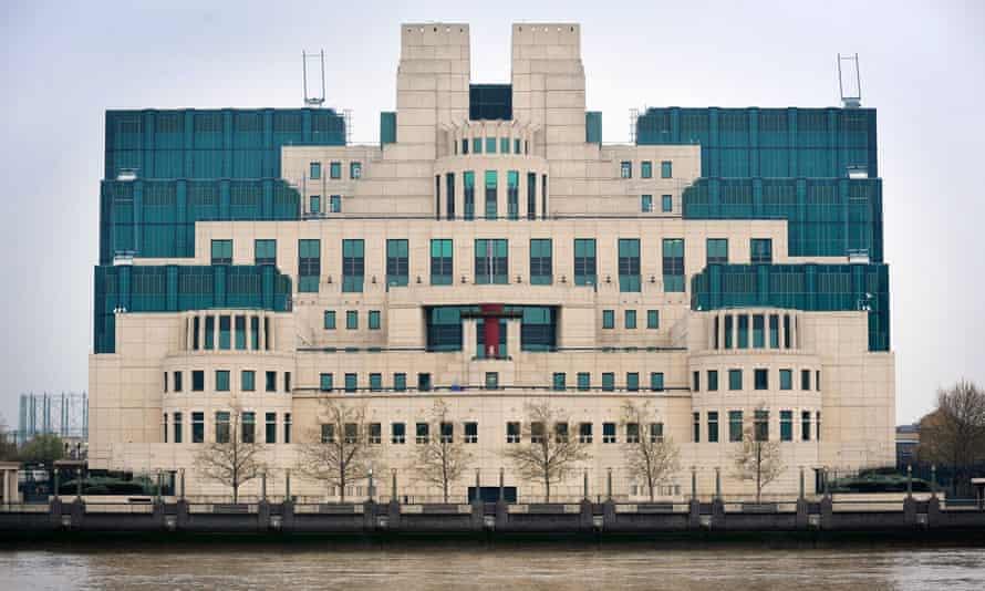 MI6 building in Vauxhall, London