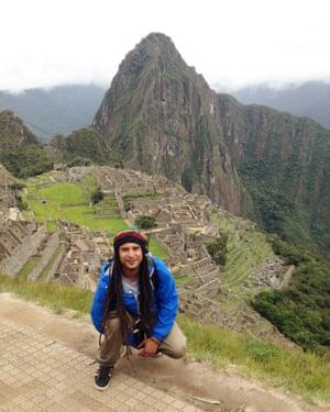 Mala at Machu Picchu.