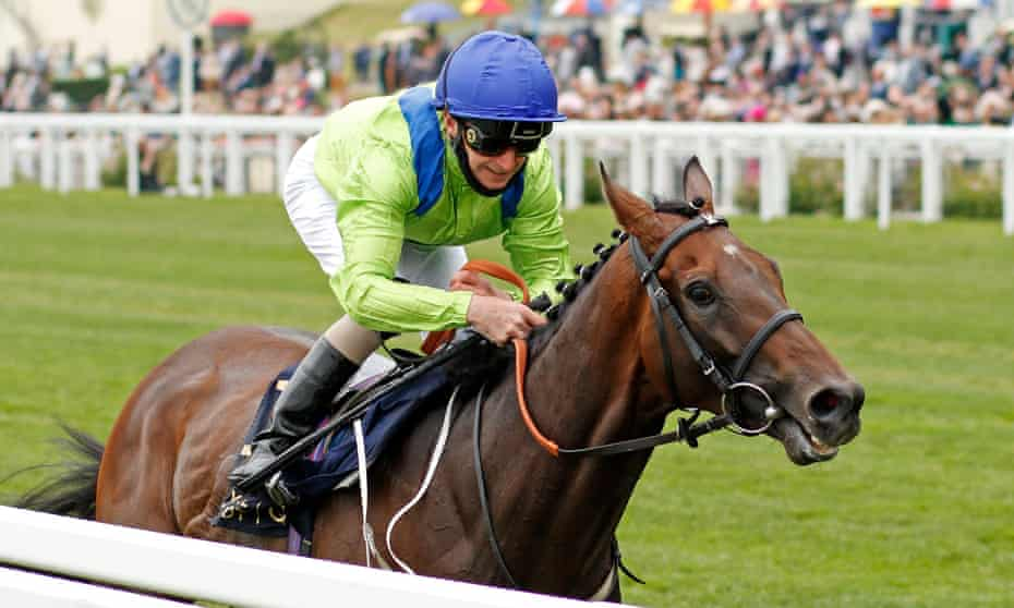 Joe Fanning and Subjectivist were far too strong for Frankie Dettori and Stradivarius.