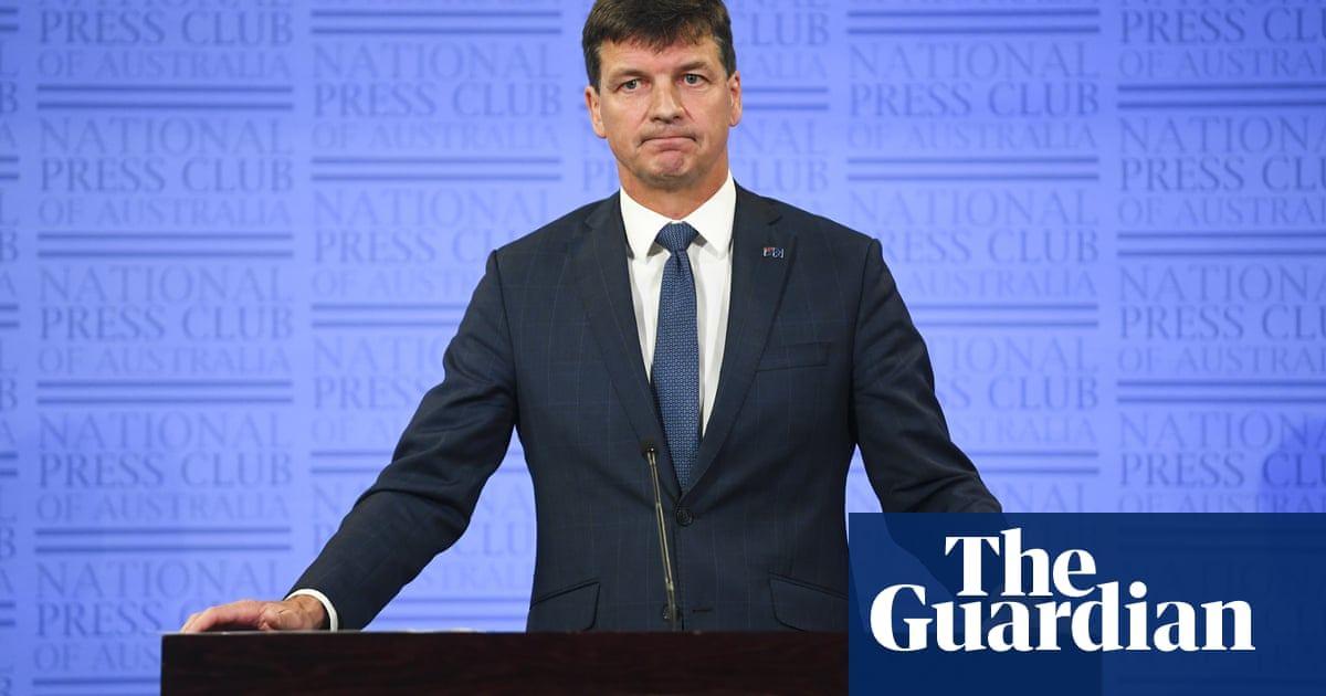 'Bonkers': Turnbull criticises Angus Taylor's $18bn bet on emissions technology – The Guardian