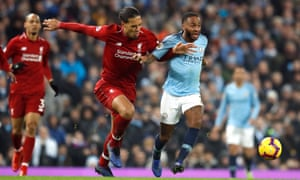 Virgil van Dijk and Manchester City's Raheem Sterling have their eyes on the prize but things were even closer 95 years ago.