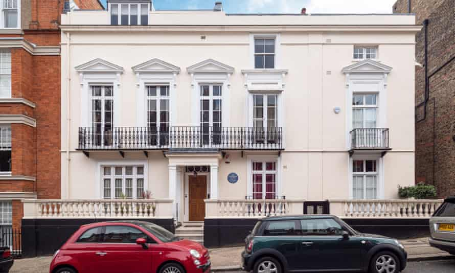Bekas rumah Jim Henson di London di Hampstead, London Utara