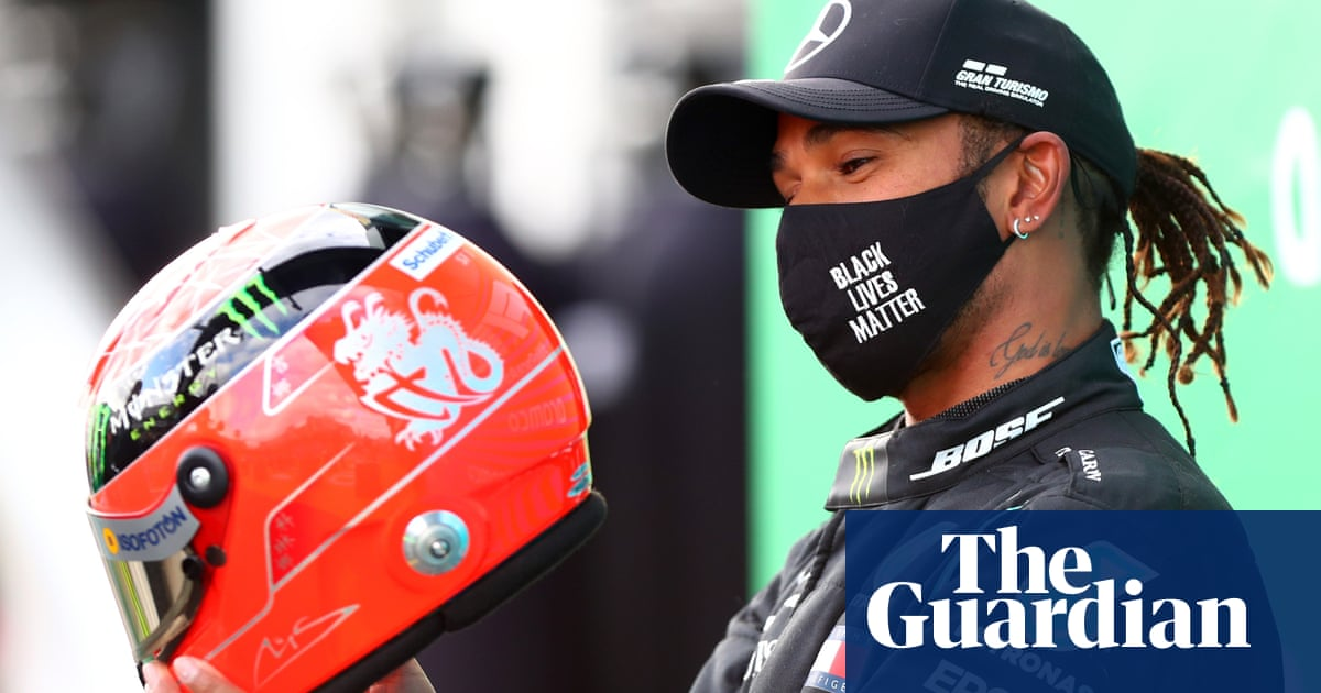 I feel humbled says Lewis Hamilton after matching Schumacher record