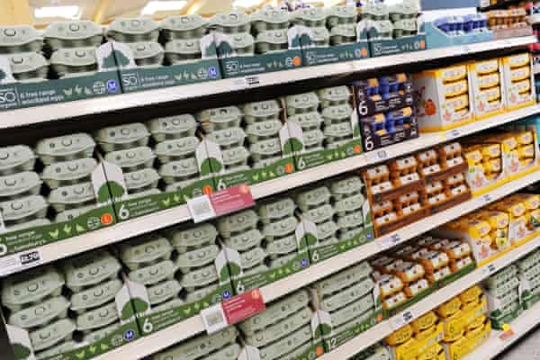 Supermarket chains are pledged to phase out shell eggs from caged hens by 2025.