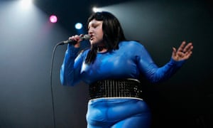 A brief flutter of excitement ... Beth Ditto of Gossip.
