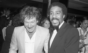 Robin Williams and Richard Pryor, photographed at the 1982 People's Choice Awards.