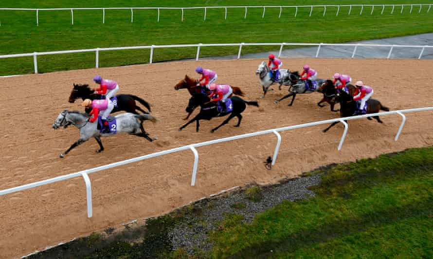 The City Racing trial at Aintree on Tuesday,