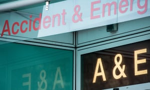 A&E department at UCH, central London