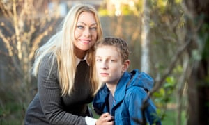 Anna Maria Tuckett, who has been deemed 'economically inactive' as she looks after her son Nicholas who is autistic