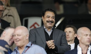 Fulham owner Shahid Khan could use Wembley as a European base for his NFL team, the Jacksonville Jaguars.