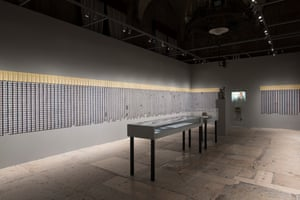 Tehching Hsieh's Doing Time exhibition.