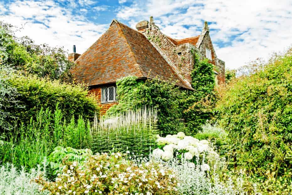 Sissinghurst Garden, created by Vita Sackville-West and Harold Nicolson