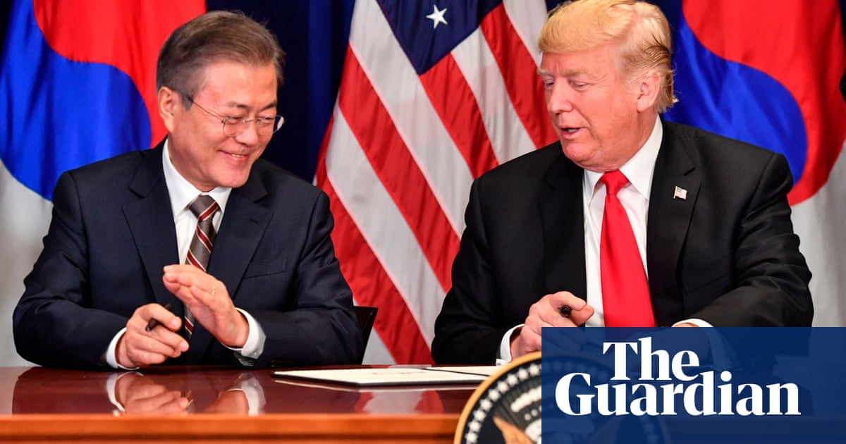 Trump plans new Kim summit a year after threat to destroy North Korea | World news | The Guardian