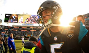Blake Bortles had 88 yards rushing for the Jags on Sunday.