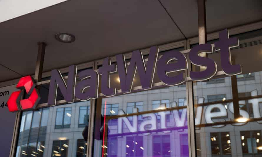 Natwest bank in the city of London, UK