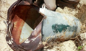 Cluster bomb image from Chundikulam, Sri Lanka. Human rights watch has documented their use in Georgia, Sudan, and quite extensively in Syria.
