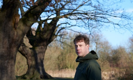 Luke Turner, the author of the acclaimed nature memoir Out of the Woods, in Epping Forest on the border of London and Essex.