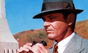 Jack Nicholson as JJ Gittes in Chinatown