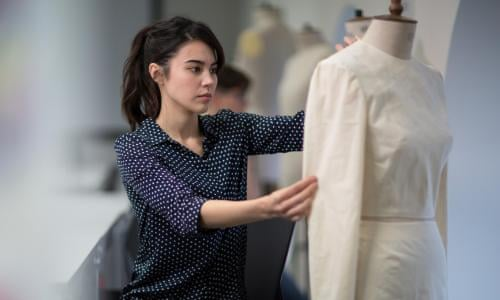 How To Break Into Fashion A Good School Won T Give You An Easy Pass Fashion And Textiles The Guardian