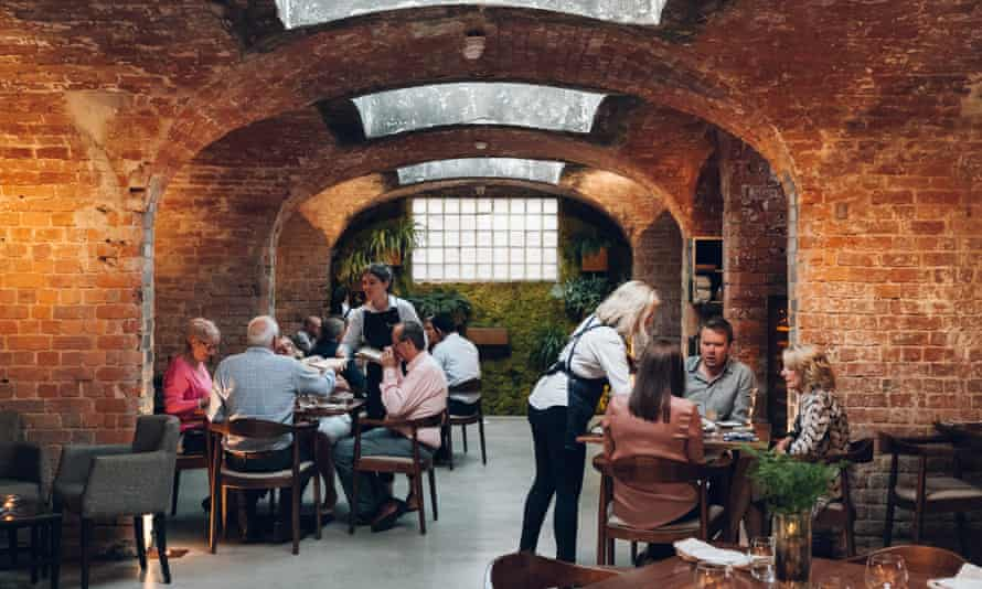 Alchemilla restaurant in Nottingham: 'I rejoice in people who have this type of vision'.