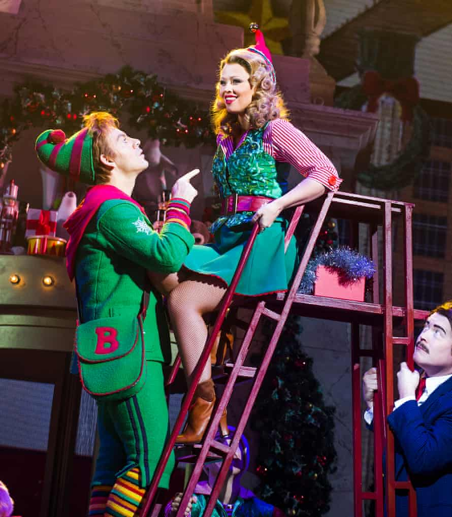 Forster with Kimberley Walsh as Jovie.