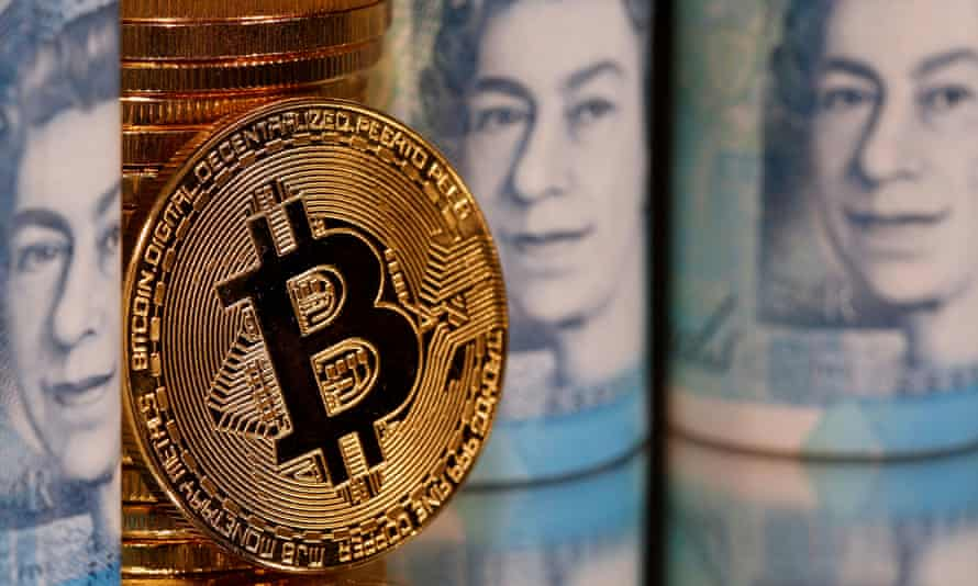 Bitcoin's value rose from below £2,000 four years ago to £45,000 in April, but has since slumped by 40%.