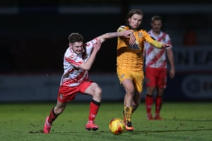 Luke Berry continues to be an important cog in the Cambridge United team.
