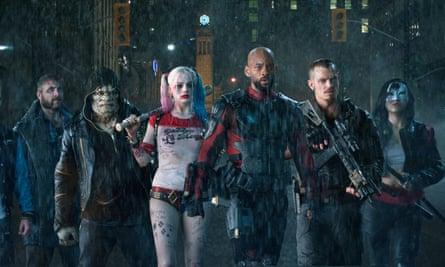 Dirty half-dozen … The Suicide Squad