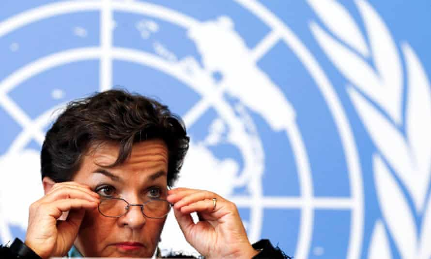 Christiana Figueres, executive secretary of the UNFCCC, said the long draft text would make the next negotiating session 'a little bit more difficult'.