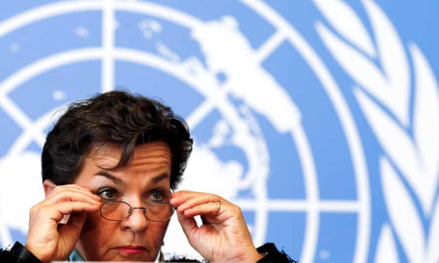 """'[Many have said] we need a carbon price and [investment] would be so much easier with a carbon price, but life is much more complex than that,"""" Christiana Figueres told a climate investor event in London."""