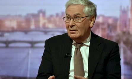 Mervyn King appears on the Andrew Marr Show