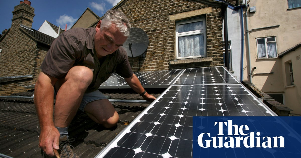 UK home solar power faces cloudy outlook as subsidies are