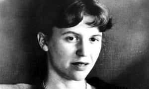Poet and writer Sylvia Plath.