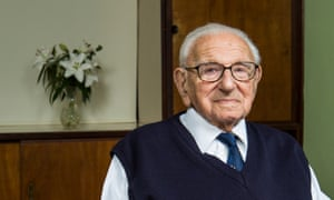 Sir Nicholas Winton photographed in 2014