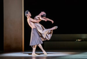Ryoichi Hirano and Natalia Osipova in Medusa.