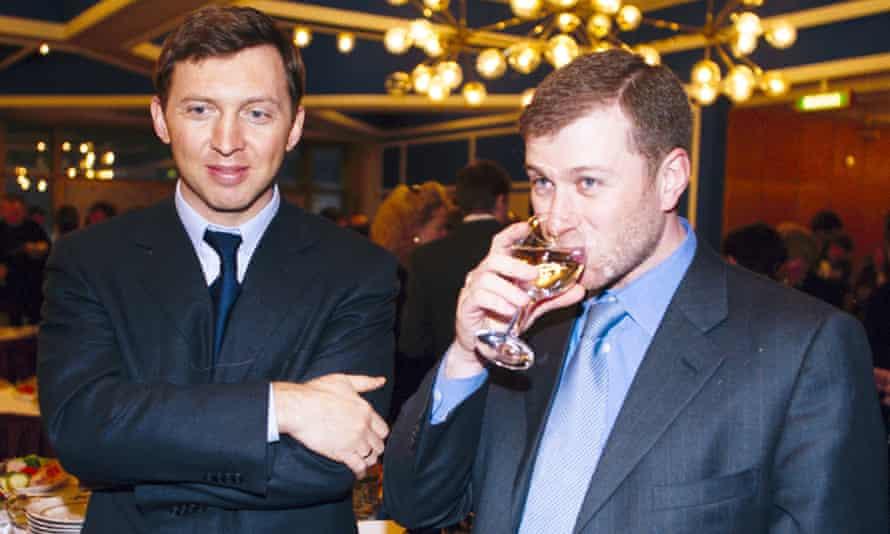 Oleg Deripaska and Roman Abramovich